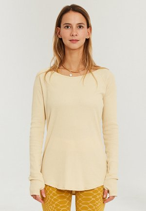 VISHAMA - Long sleeved top - vanille