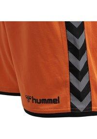 Hummel - HMLAUTHENTIC  - Sports shorts - tangerine - 3