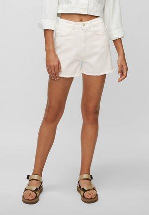 Denim shorts - multi/bright white