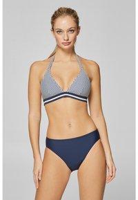 Esprit - OCEAN BEACH CLASSIC SOLID BRIEF - Bikini bottoms - navy - 1