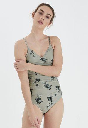 ICHI IAFALLUHA SW - Swimsuit - desert sage