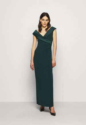 MID WEIGHT LONG GOWN COMBO - Occasion wear - deep pine