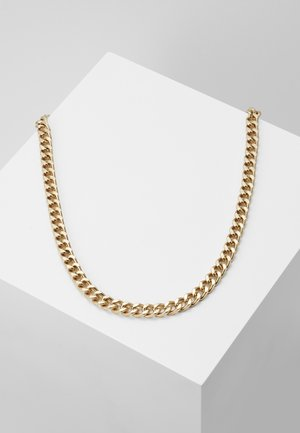 HEAVY HIT NECKLACE - Collana - antique gold-coloured