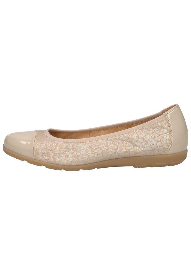 Ballet pumps - sand jaguar