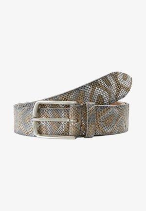Belt - creme/silber