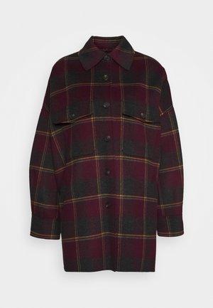 ARDEA - Classic coat - pflaume