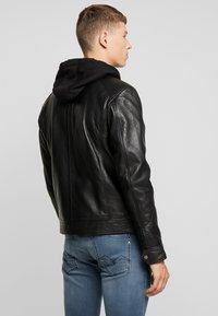 Serge Pariente - NILS  - Leather jacket - black - 2