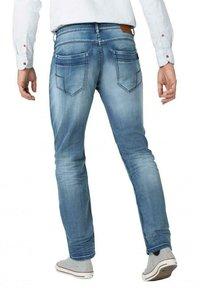 Timezone - Slim fit jeans - antique blue wash - 2