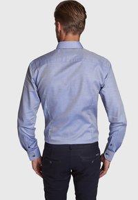 Bruun & Stengade - MALCOM - Zakelijk overhemd - blue - 2