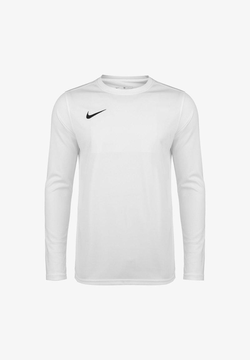 Nike Performance - Long sleeved top - white / black