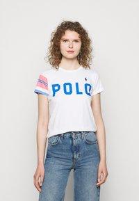 Polo Ralph Lauren - T-shirt z nadrukiem - white - 0