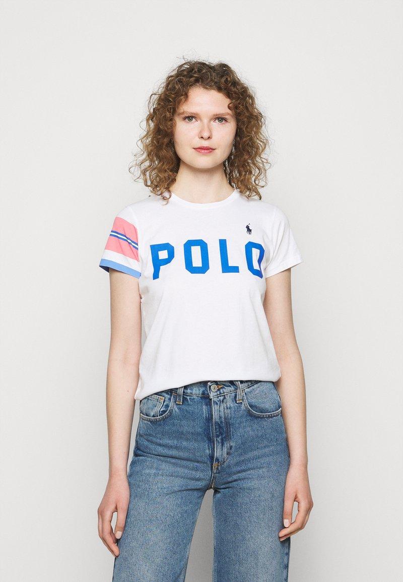 Polo Ralph Lauren - T-shirt z nadrukiem - white
