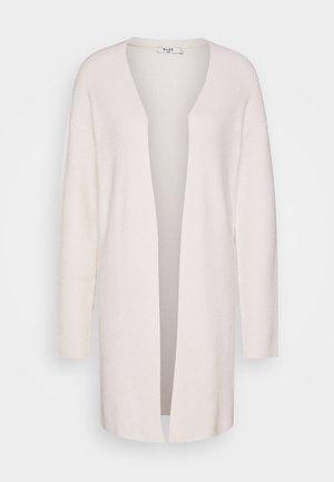NA-KD X ZALANDO EXCLUSIVE - SOFT RIBBED CARDIGAN - Cardigan - off-white