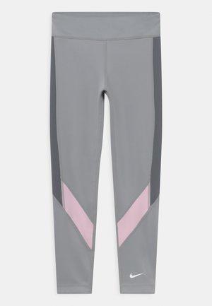 ONE - Leggings - smoke grey/pink foam