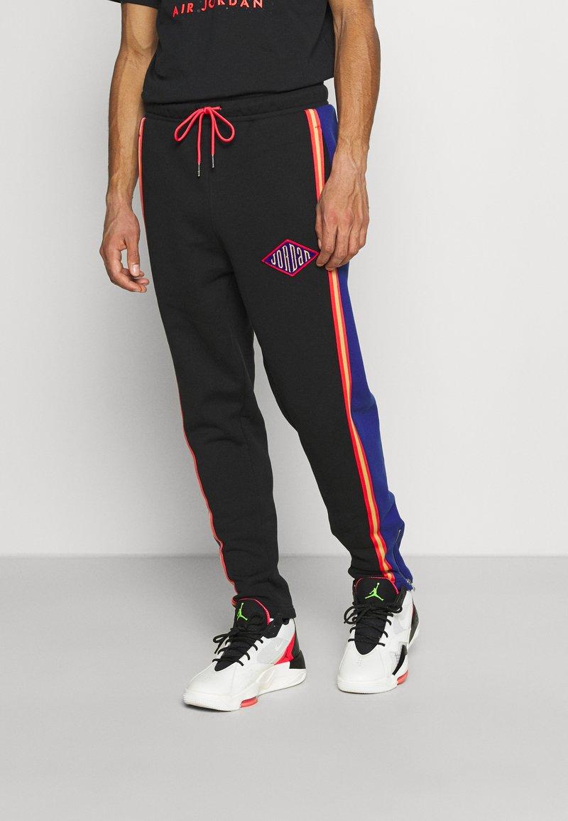 Jordan - PANT - Pantaloni sportivi - black/deep royal blue/track red
