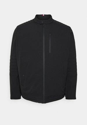 STRETCH CAFE RACER - Summer jacket - black