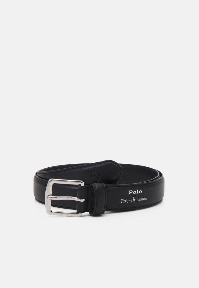 SMOOTH - Formální pásek - black