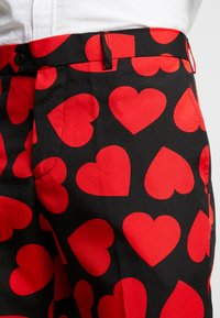 OppoSuits - KING OF HEARTS SUIT SET - Suit - black/red - 10