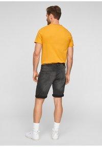 s.Oliver - Denim shorts - dark grey - 2
