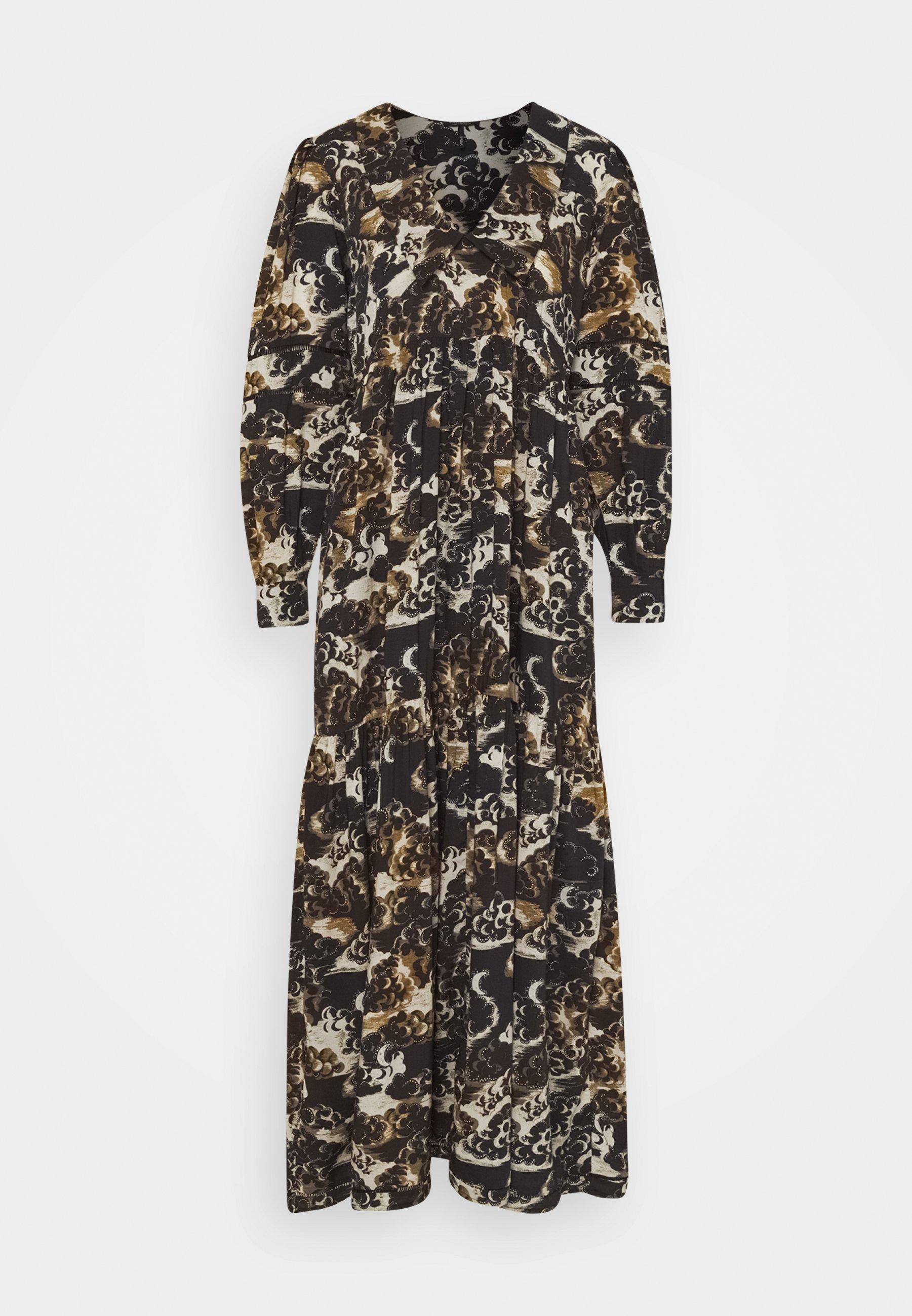 Damen PRINTED MAXI DRESS - Freizeitkleid