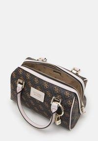 Guess - TYREN BOX SATCHEL - Handbag - brown stone - 2