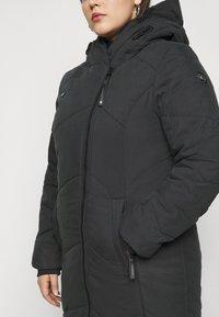 Ragwear Plus - GORDON LONG PLUS - Zimní kabát - black - 5