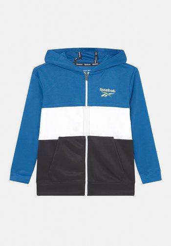 REEBOK CLASSIC ZIP FRONT - Zip-up sweatshirt - royal blue