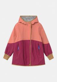 Finkid - AINA MOVE UNISEX - Waterproof jacket - rose/cinnamon - 0