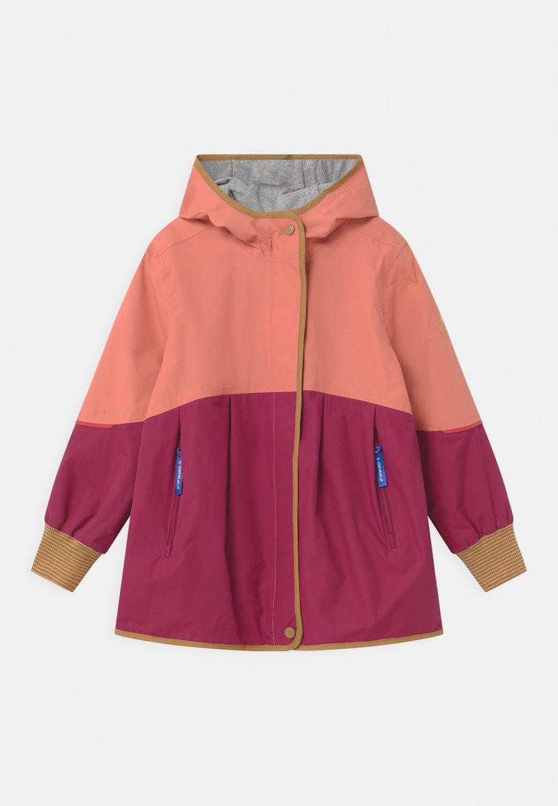 Finkid - AINA MOVE UNISEX - Waterproof jacket - rose/cinnamon