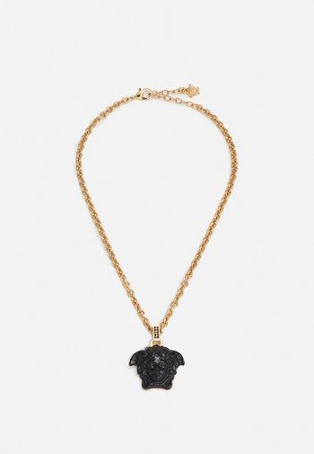 NECKLACE MEDUSA - Necklace - black/gold-coloured