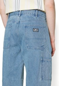 Obey Clothing - HARD WORK CARPENTER - Straight leg -farkut - light indigo - 6