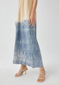 PULL&BEAR - Maxi šaty - dark blue - 3