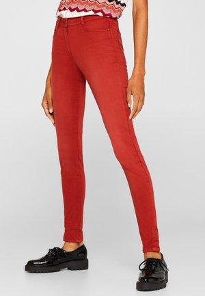 Jeans Skinny Fit - terracotta