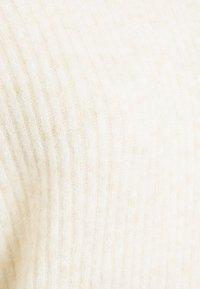 Selected Femme - SLFSIF KAI NECK - Jumper - sandshell melange - 2