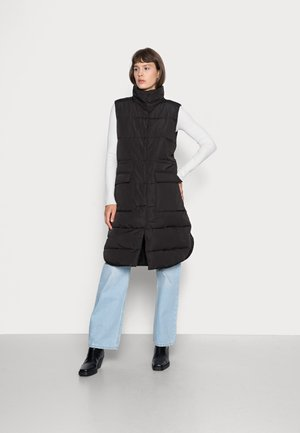KAYSA WAISTCOAT - Waistcoat - black
