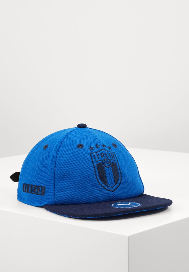 ITALIEN FIGC FLATBRIM - Cap - team power blue/peacoat