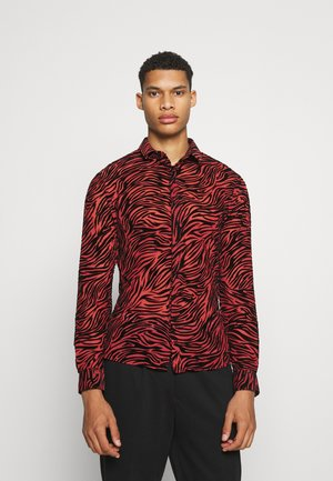 ROLOWAY - Košile - black red