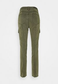 comma casual identity - LANG - Slim fit jeans - green