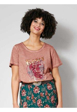 Print T-shirt - altrosa