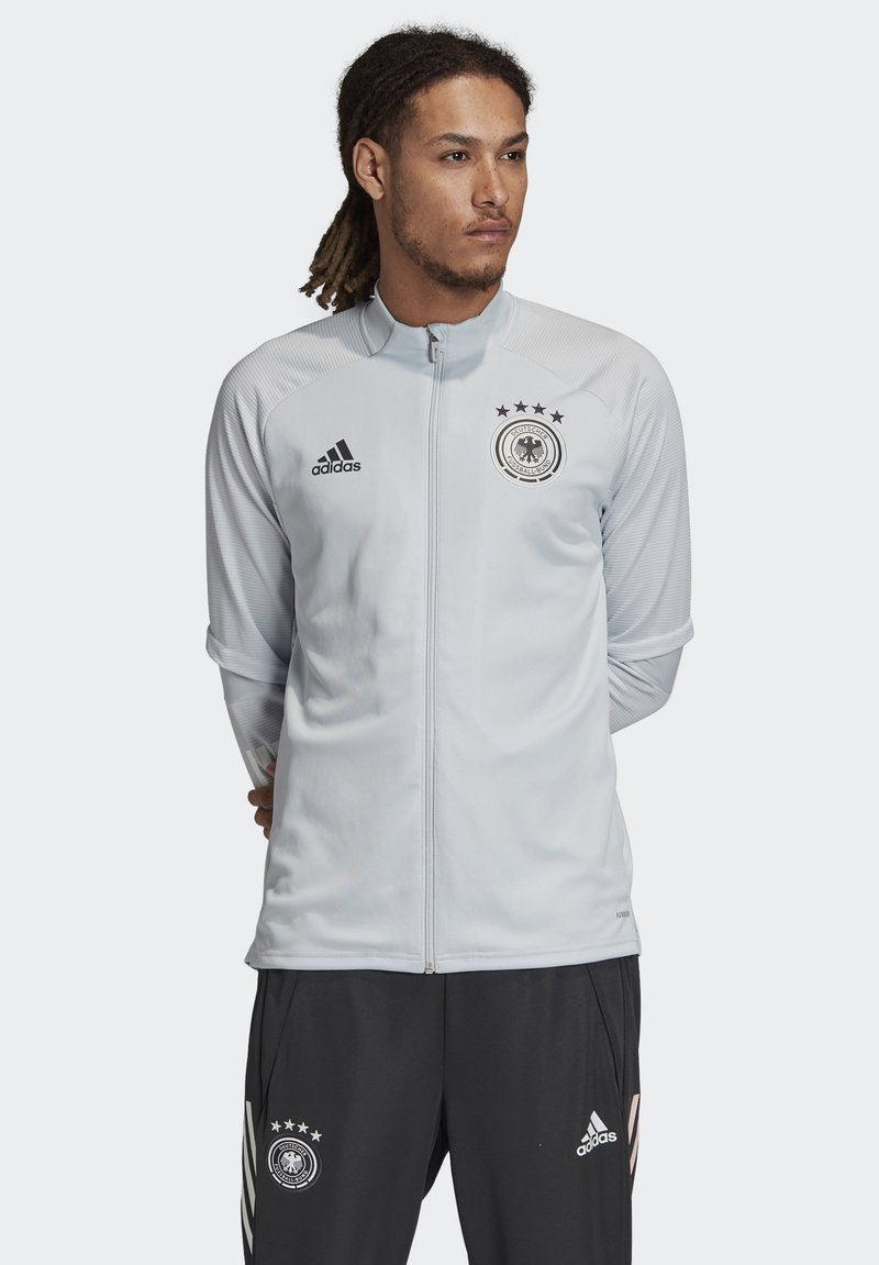 adidas Performance - DEUTSCHLAND DFB TRAINING JACKE - Article de supporter - clear grey