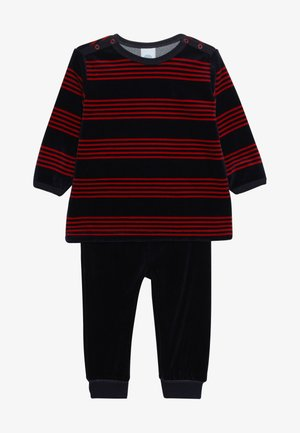 PYJAMA LONG BABY - Pyjama set - karmin