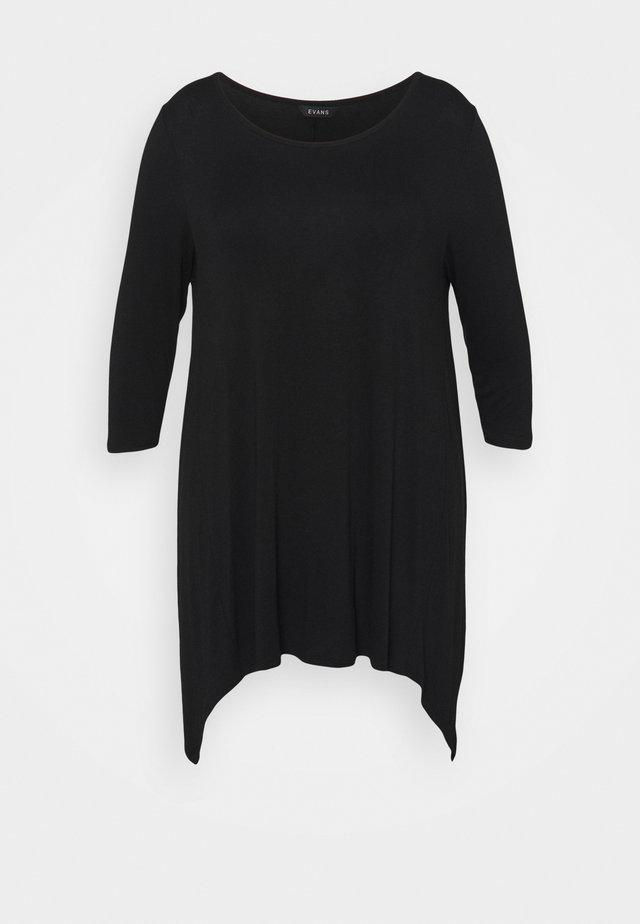 HANKY HEM - T-shirts print - black