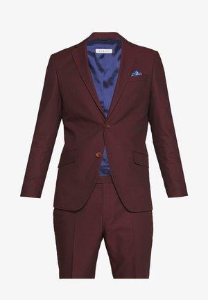 SUIT - Suit - burgundy