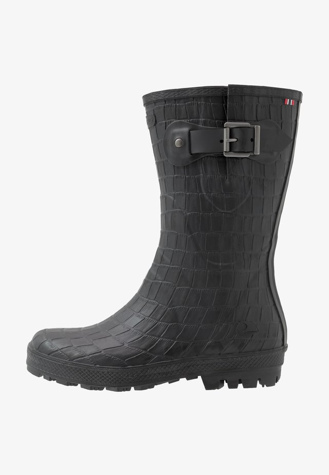 HEDDA CROCO - Wellies - black
