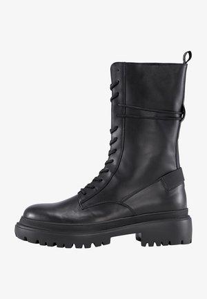 ALPINA - Platform ankle boots - schwarz