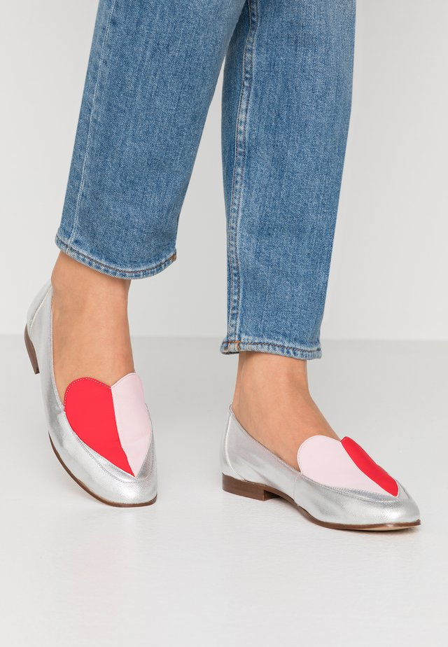 VAMOUR - Loafers - argent