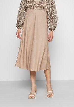 OSHIN - Áčková sukně - chanterelle