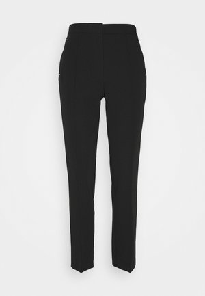 UPSPEC ANKLE GRAZER WITH ELASTIC BACK - Trousers - black