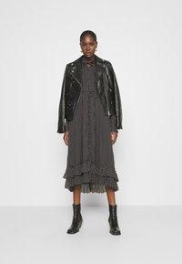 AllSaints - LARA DOT DRESS - Day dress - black - 1