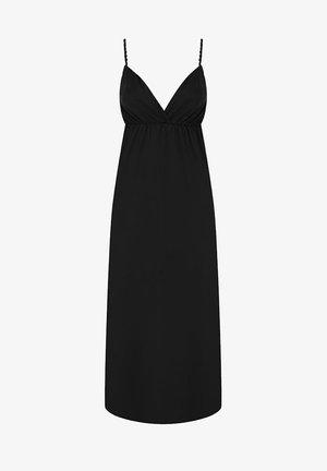 NATURAL - Maxi dress - black